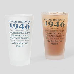 Birthday Facts-1946 Drinking Glass