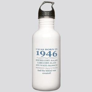 Birthday Facts-1946 Water Bottle