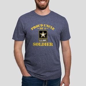 proudarmyuncle33b Mens Tri-blend T-Shirt