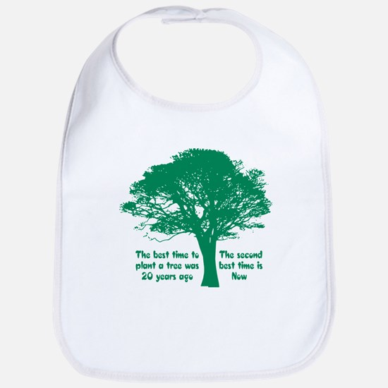 Plant a Tree Now Bib