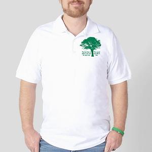 Plant a Tree Now Golf Shirt