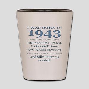 Birthday Facts-1943 Shot Glass