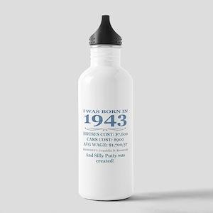 Birthday Facts-1943 Water Bottle