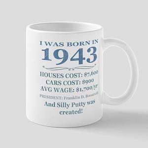 Birthday Facts-1943 Mugs