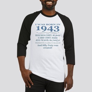 Birthday Facts-1943 Baseball Jersey