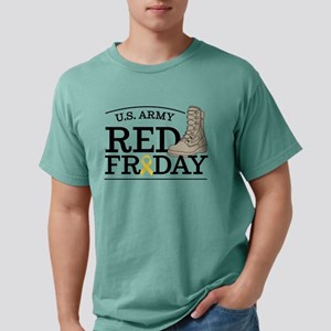 Army RED Friday Boot Mens Comfort Colors Shirt