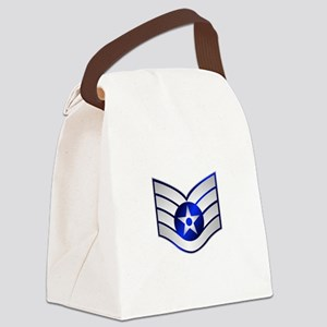 Air Force Staff Sergeant Canvas Lunch Bag