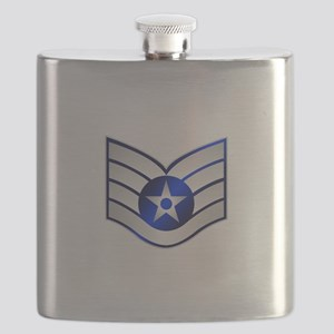 Air Force Staff Sergeant Flask