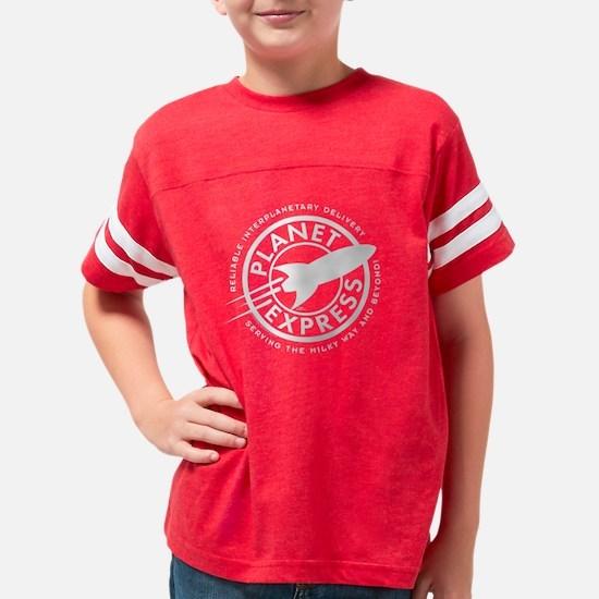 Planet Express Logo Dark Youth Football Shirt