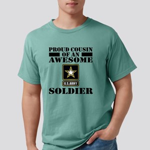armyawesomecousin Mens Comfort Colors Shirt