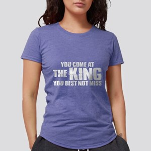 The King Dark Womens Tri-blend T-Shirt