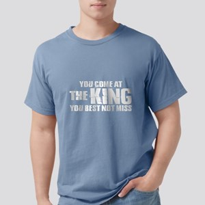 The King Dark Mens Comfort Colors Shirt