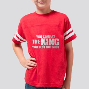 The King Dark Youth Football Shirt