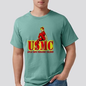 Uncle Sam's Misguided Ch Mens Comfort Colors Shirt