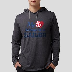 HeartBelongsSailor1C Mens Hooded Shirt