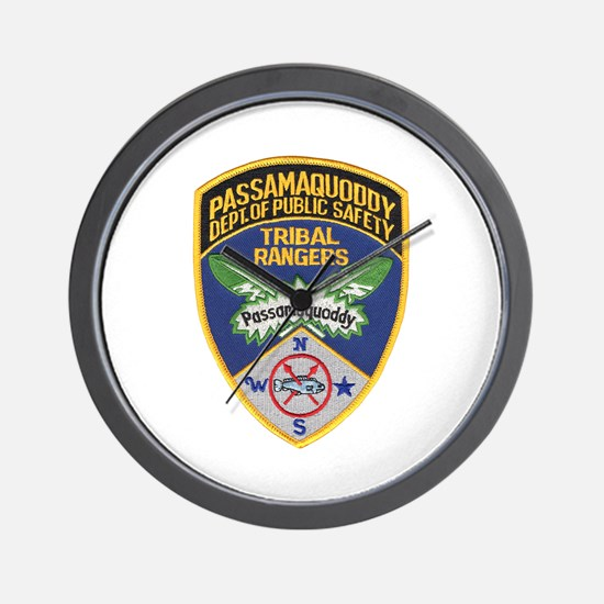 Passamaquoddy Ranger Wall Clock