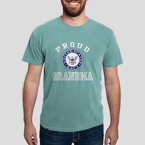 Proud US Navy Grandma Mens Comfort Colors Shirt
