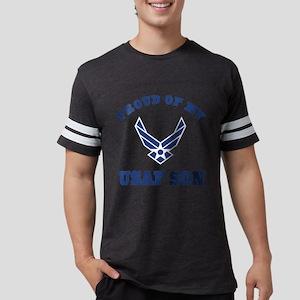 Air Force Son Proud Mom Dad Mens Football Shirt