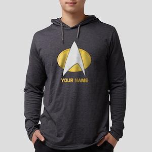 Star Trek: TNG Emblem Mens Hooded Shirt