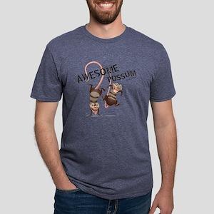 Ice Age Awesome Possum Ligh Mens Tri-blend T-Shirt