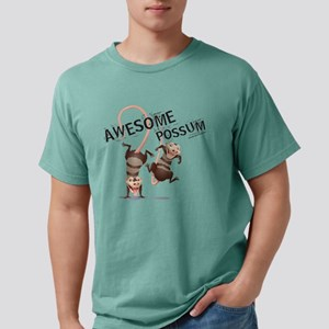 Ice Age Awesome Possum L Mens Comfort Colors Shirt