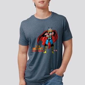 The Mighty Thor Personaliza Mens Tri-blend T-Shirt