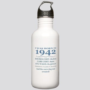 Birthday Facts-1942 Water Bottle