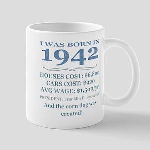 Birthday Facts-1942 Mugs