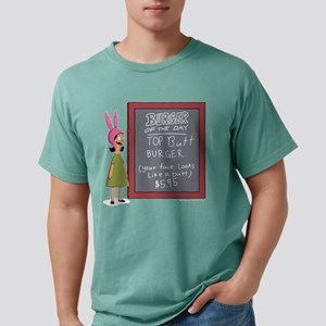 Bob's Burgers Burger of  Mens Comfort Colors Shirt