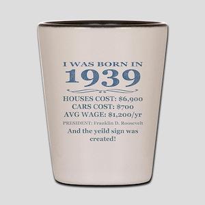 Birthday Facts-1939 Shot Glass