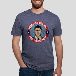 Archer Sterling Archer for  Mens Tri-blend T-Shirt