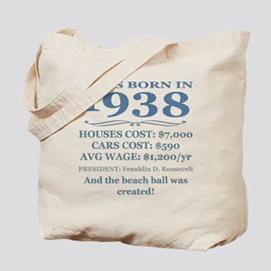 Birthday Facts-1938 Tote Bag
