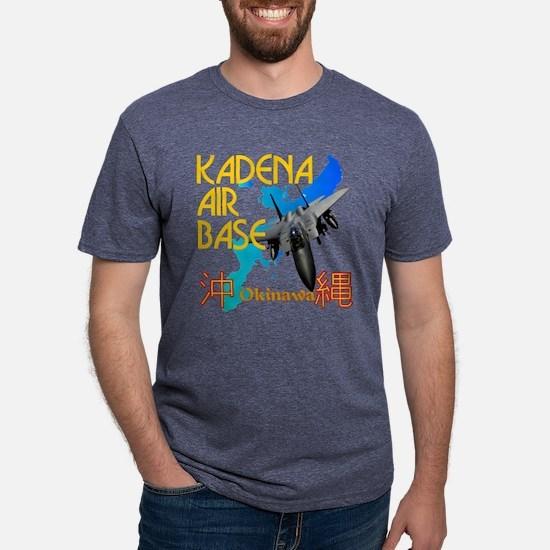 kab shirt drk Mens Tri-blend T-Shirt
