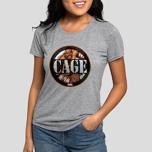 Luke Cage Badge Womens Tri-blend T-Shirt