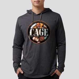 Luke Cage Badge Mens Hooded Shirt