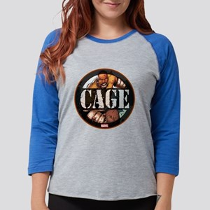 Luke Cage Badge Womens Baseball Tee