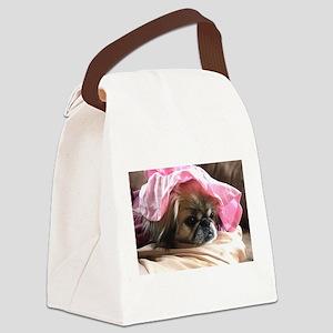Pekingese Canvas Lunch Bag