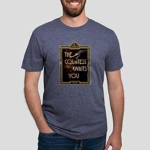 AHS Hotel The Countess Awai Mens Tri-blend T-Shirt
