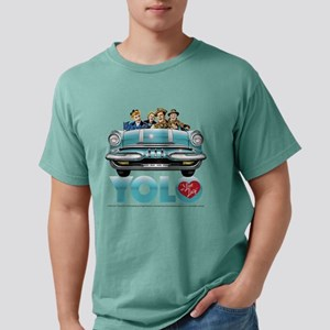 I Love Lucy: YOLO Mens Comfort Colors Shirt