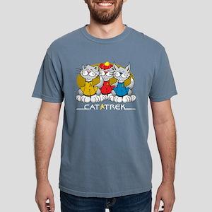 Cat-Trek-blk Mens Comfort Colors Shirt