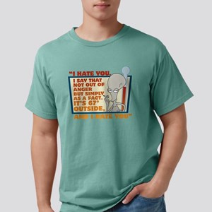American Dad I Hate You  Mens Comfort Colors Shirt