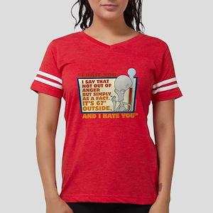 American Dad I Hate You Dark Womens Football Shirt