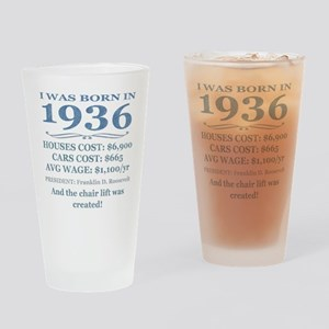 Birthday Facts-1936 Drinking Glass