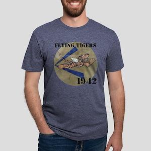 FLYING TIGERS 1942 Mens Tri-blend T-Shirt