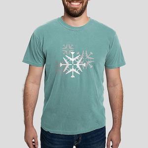 B-52 Snowflake Mens Comfort Colors Shirt