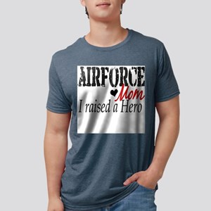 airforce rasied hero Mens Tri-blend T-Shirt