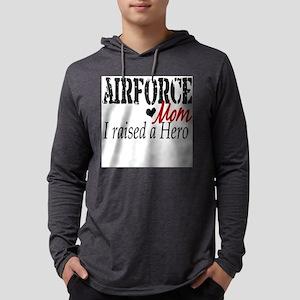 airforce rasied hero Mens Hooded Shirt