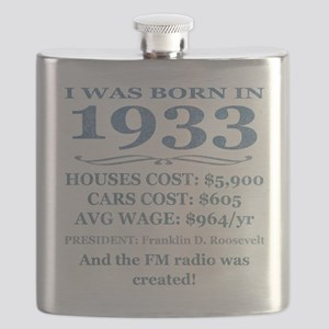 Birthday Facts-1933 Flask