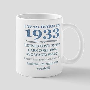 Birthday Facts-1933 Mugs
