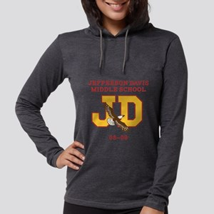 Eastbound and Down: JD Middle  Womens Hooded Shirt